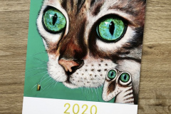 Kunztdruck-Froschkunztkalender 2020