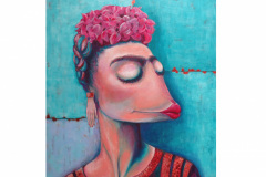 Die Fröschin Kahlo