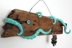 Oktopus-Schlüsselbrett