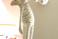 Roy, der weiße Tigerfrosch