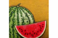 Wassermelonenfrosch